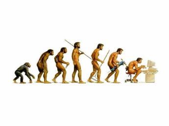 It's evolution, baby!